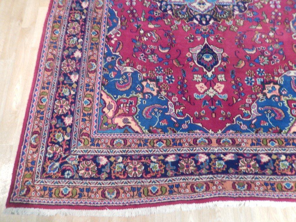 Persian Mashad Rug 6.5x9.7 - 3