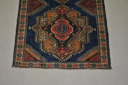 Handmade Semi-Antique Persian Balouch 2.11x4.9 - 3