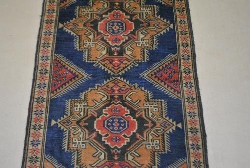 Handmade Semi-Antique Persian Balouch 2.11x4.9 - 4