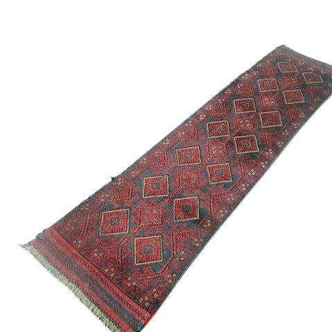 Handmade Semi-Antique Persian Balouch Runner 1.10x5.8