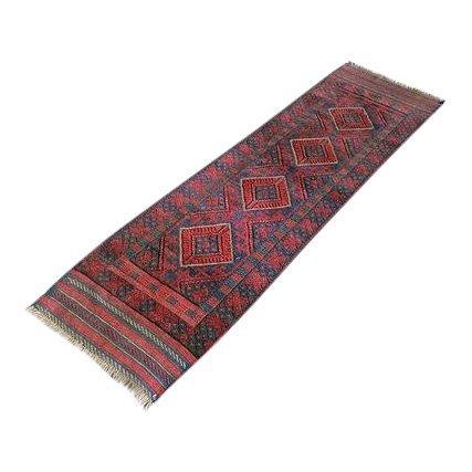 Handmade Semi-Antique Persian Balouch Runner 1.10x7.8