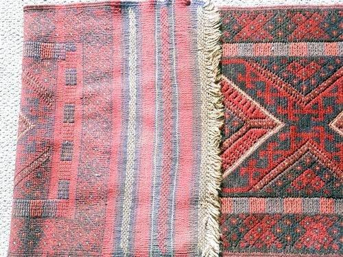 Handmade Semi-Antique Persian Balouch Runner 1.10x7.8 - 2