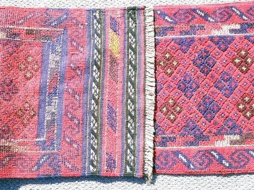 Handmade Semi-Antique Persian Balouch Runner 1.1x7.9 - 2