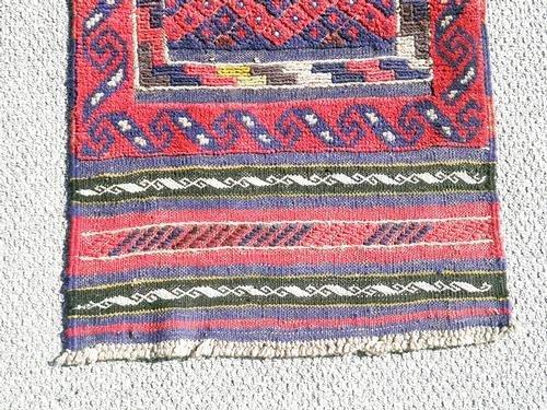 Handmade Semi-Antique Persian Balouch Runner 1.1x7.9 - 3
