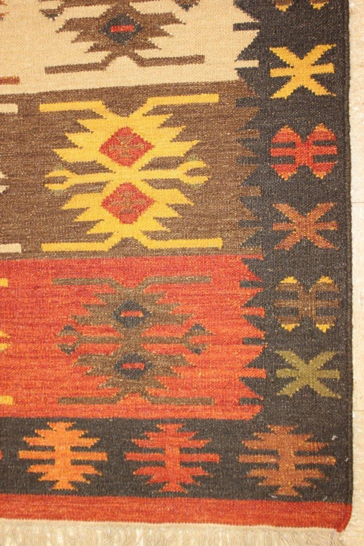 Tribal Handmade Flatweave Kilim Area Rug 5.3x7.8 - 2