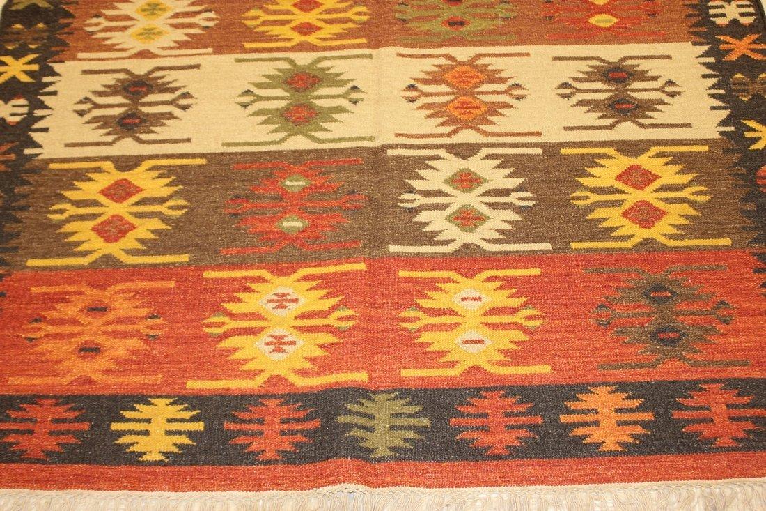 Tribal Handmade Flatweave Kilim Area Rug 5.3x7.8 - 5