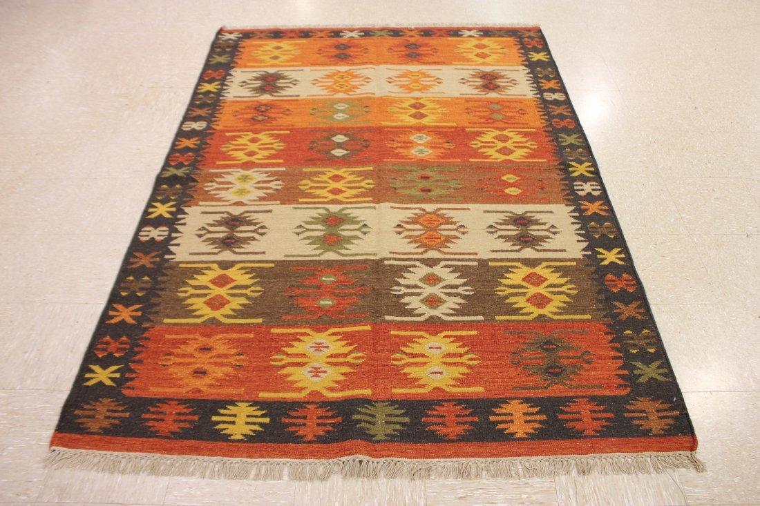 Tribal Handmade Flatweave Kilim Area Rug 5.3x7.8 - 6