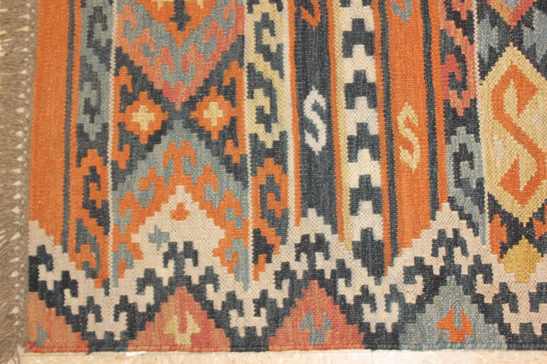 Flatweave Handmade Kilim Rug 5.3x7.7 - 2