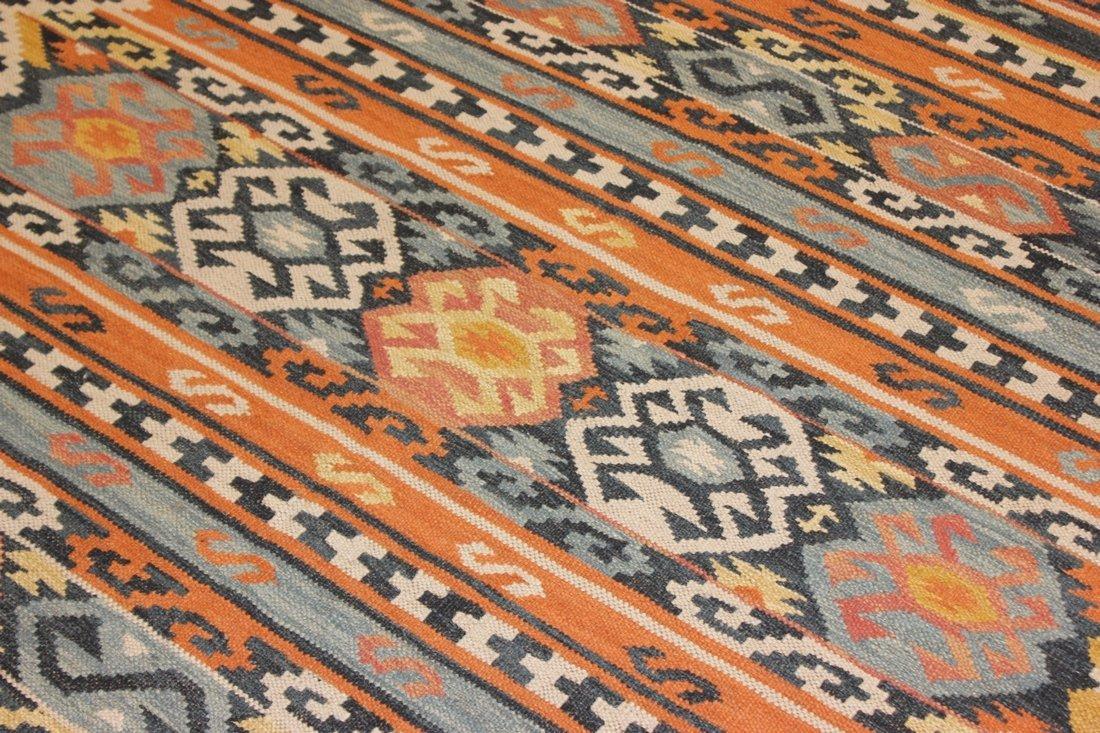 Flatweave Handmade Kilim Rug 5.3x7.7 - 4