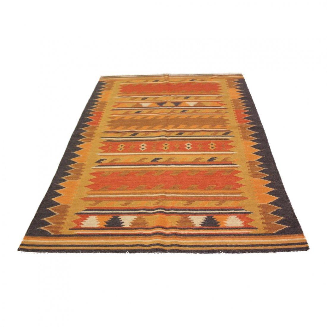 Handmade Flat Weave Kilim Rug 5.6x8