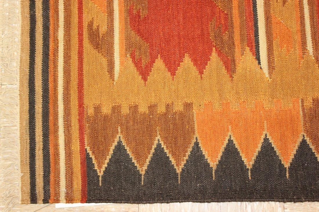 Handmade Flat Weave Kilim Rug 5.6x8 - 2