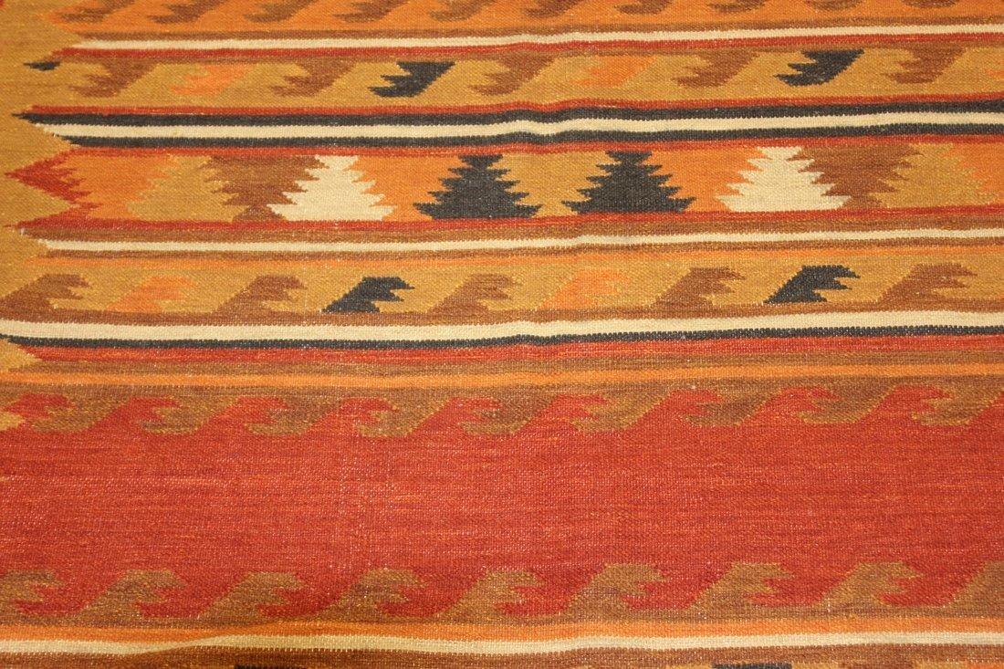 Handmade Flat Weave Kilim Rug 5.6x8 - 5