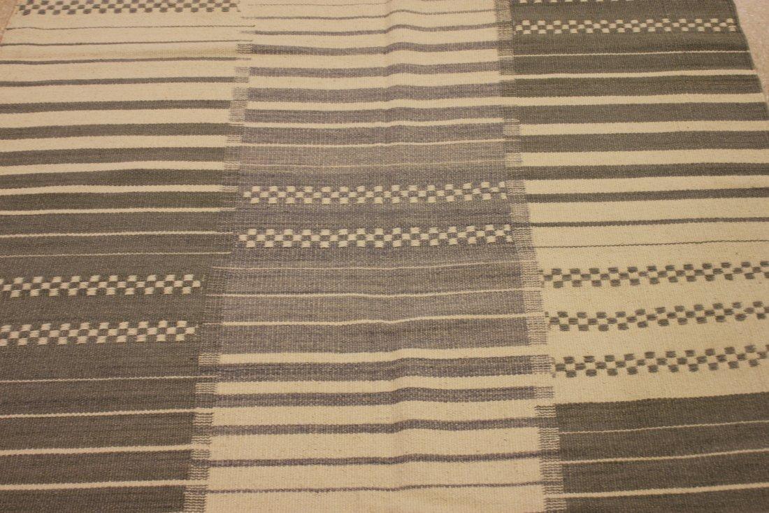 Handmade Flat Weave Kilim Area Rug 5.3x7 - 3