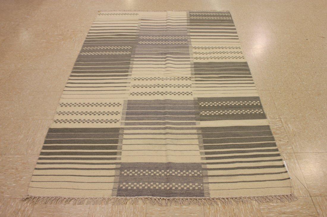 Handmade Flat Weave Kilim Area Rug 5.3x7 - 4