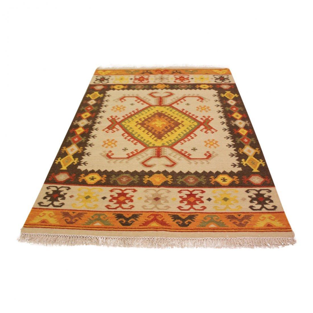 Tribal Handmade Flatweave Kilim Area Rug 5.3x7.7