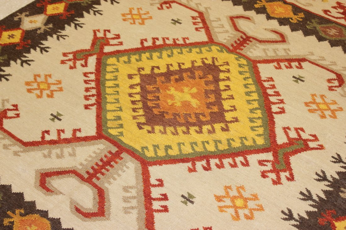Tribal Handmade Flatweave Kilim Area Rug 5.3x7.7 - 3