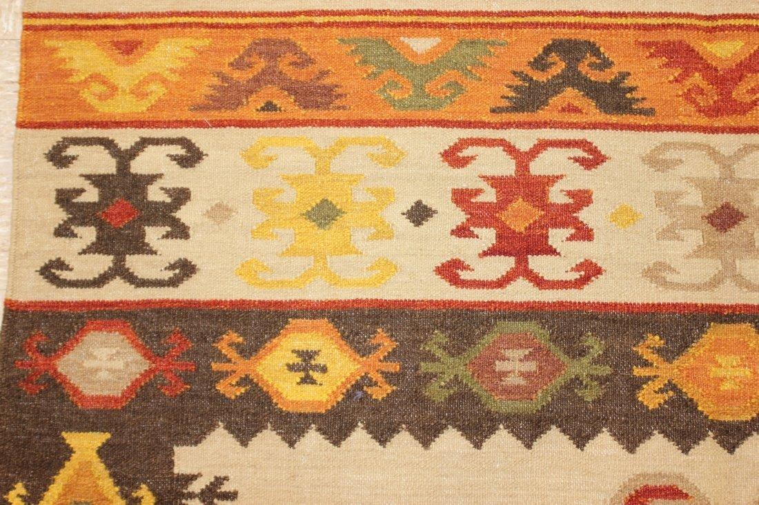 Tribal Handmade Flatweave Kilim Area Rug 5.3x7.7 - 4