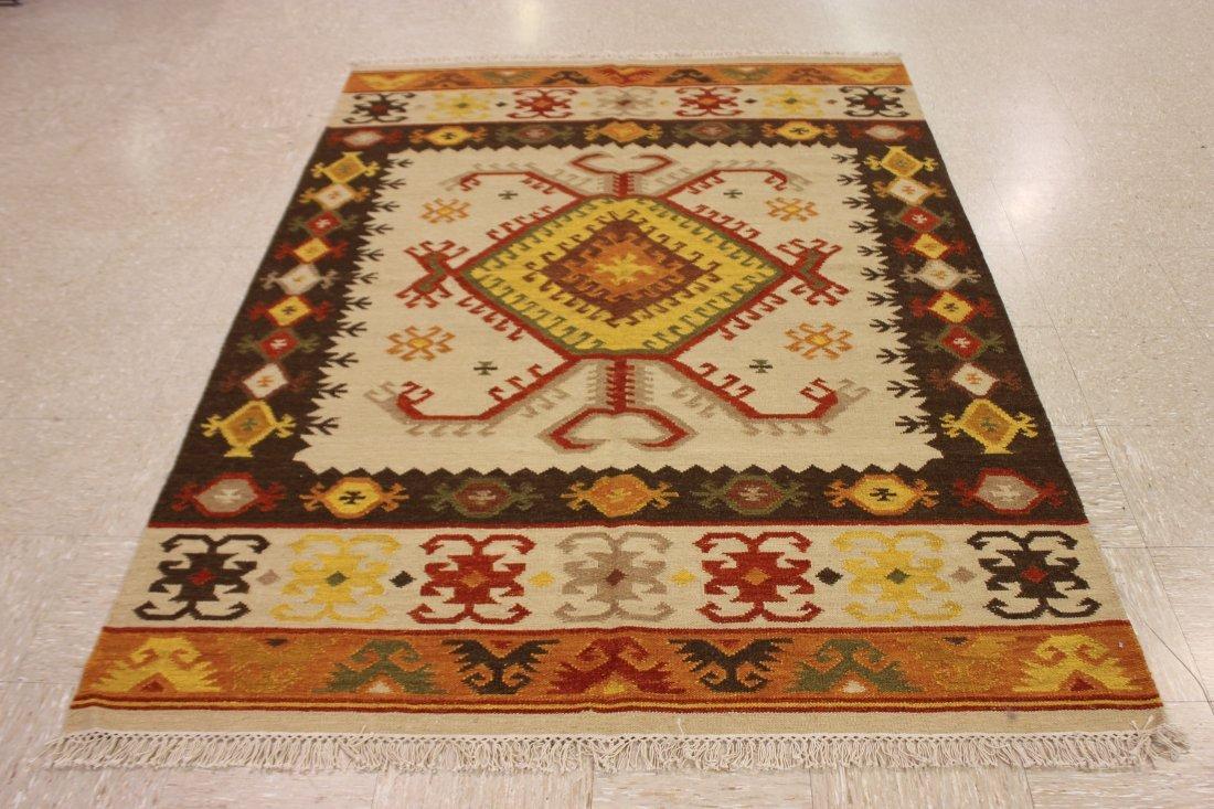Tribal Handmade Flatweave Kilim Area Rug 5.3x7.7 - 7