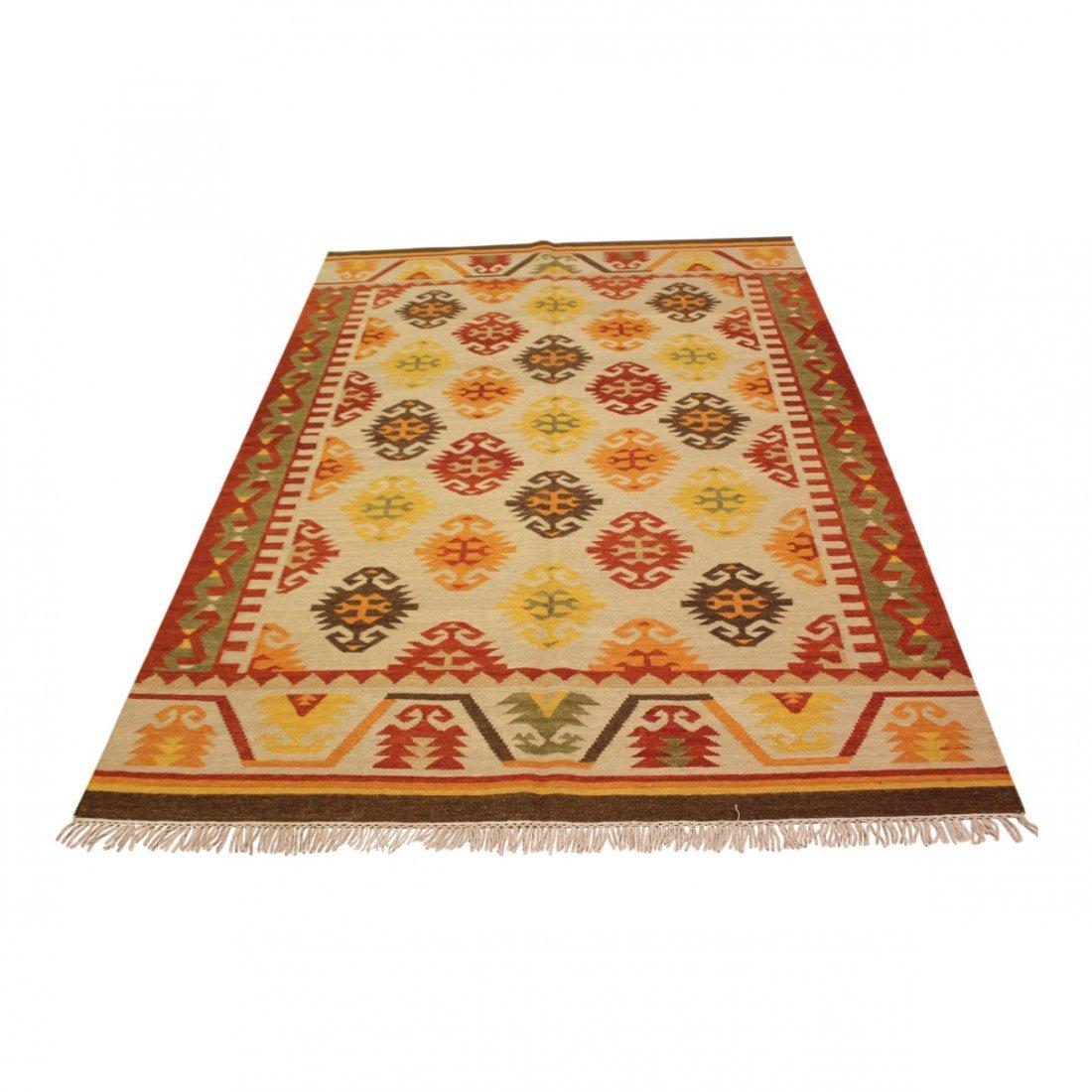 Shirvan Flatweave Handmade Kilim Rug 5.3x7.7