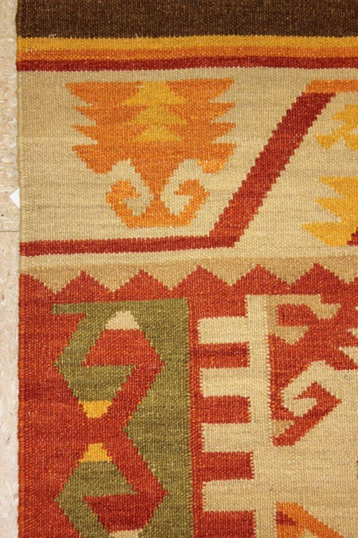 Shirvan Flatweave Handmade Kilim Rug 5.3x7.7 - 2