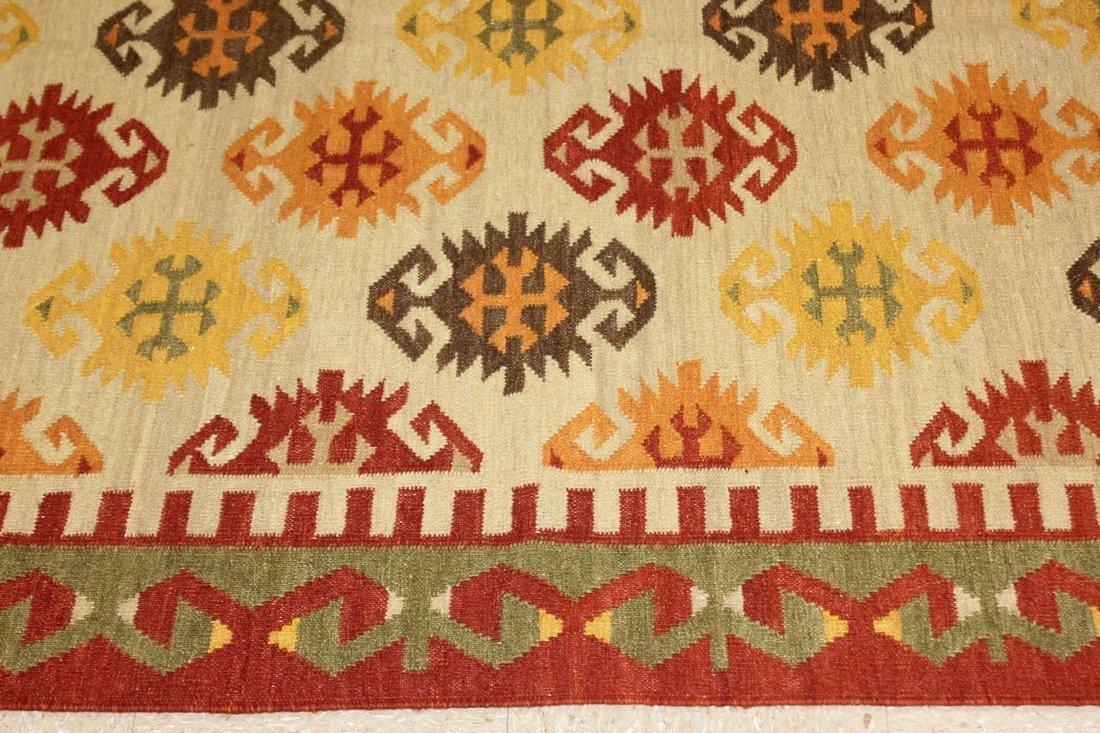 Shirvan Flatweave Handmade Kilim Rug 5.3x7.7 - 3