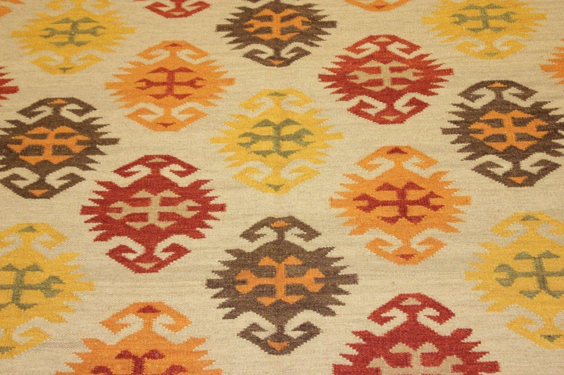Shirvan Flatweave Handmade Kilim Rug 5.3x7.7 - 4