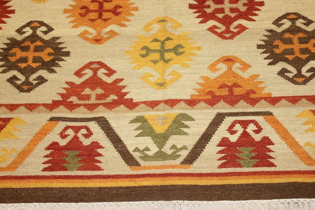 Shirvan Flatweave Handmade Kilim Rug 5.3x7.7 - 5