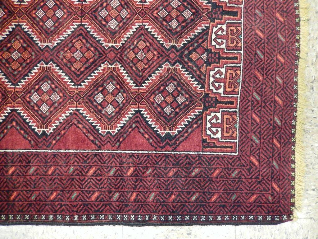 Persian Baluch Tribal Rug 3.10x6.4 - 3