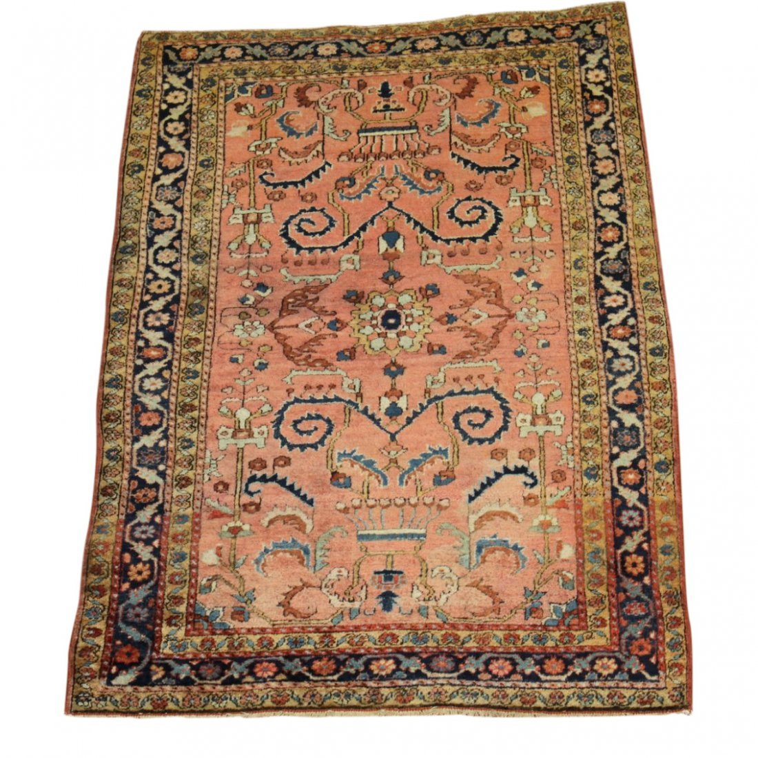 Handmade Antique Persian Sarouk 3x5