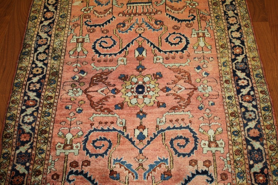 Handmade Antique Persian Sarouk 3x5 - 6