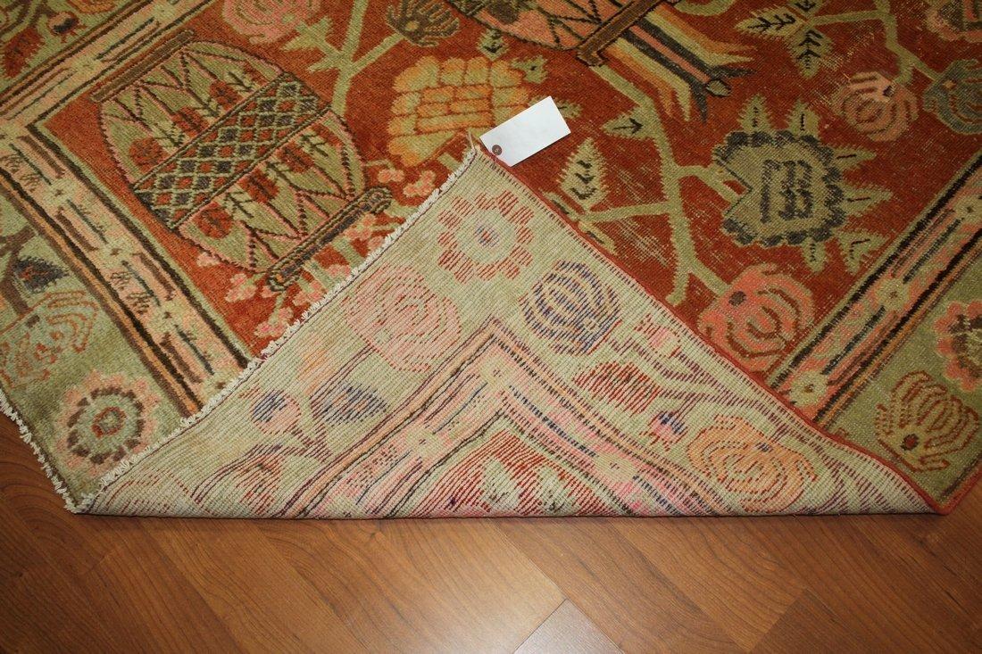 Handmade Antique Khotan 4.9x7.8 - 3
