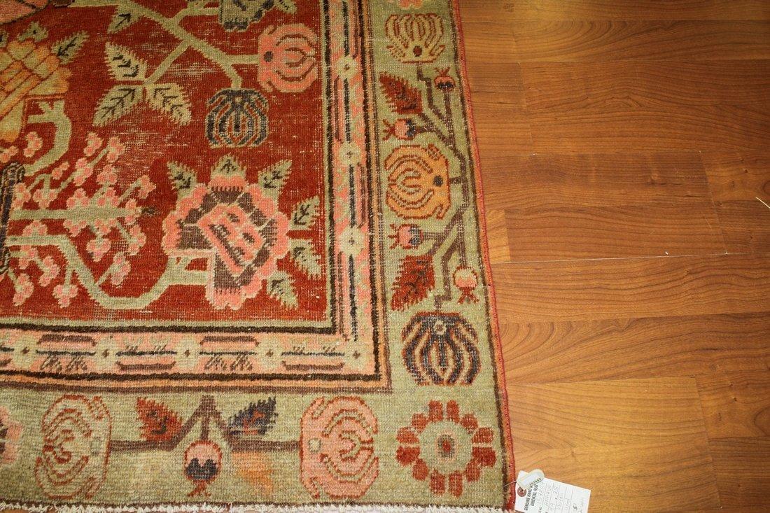 Handmade Antique Khotan 4.9x7.8 - 4