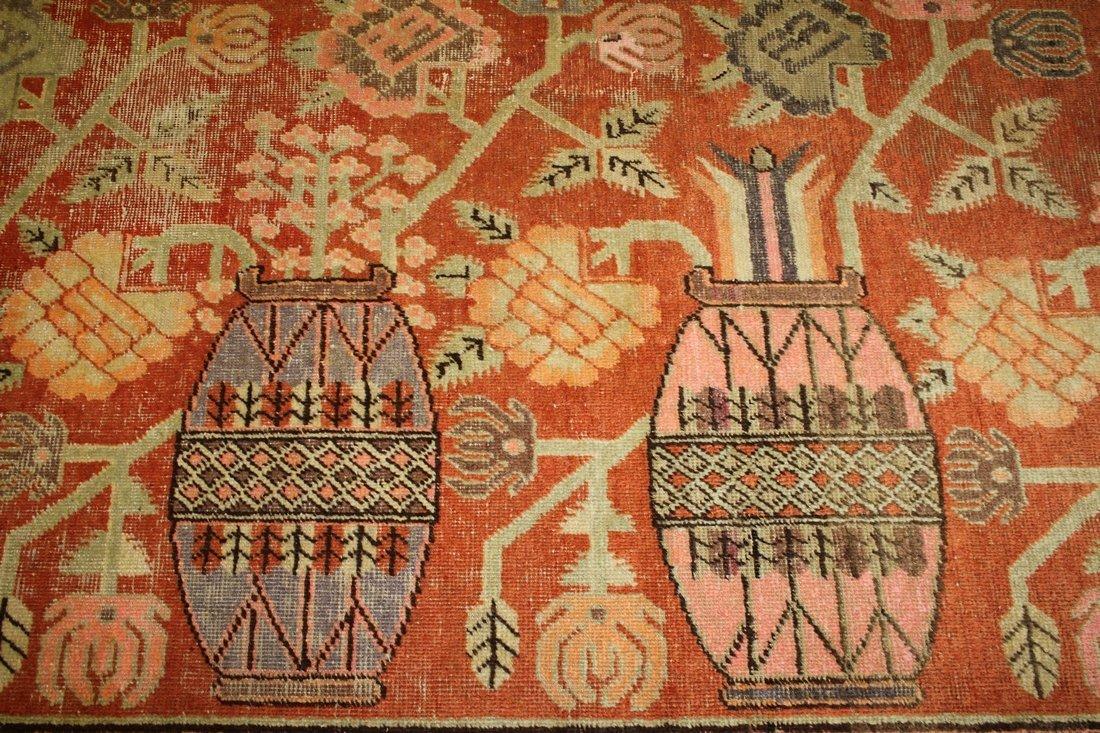 Handmade Antique Khotan 4.9x7.8 - 6
