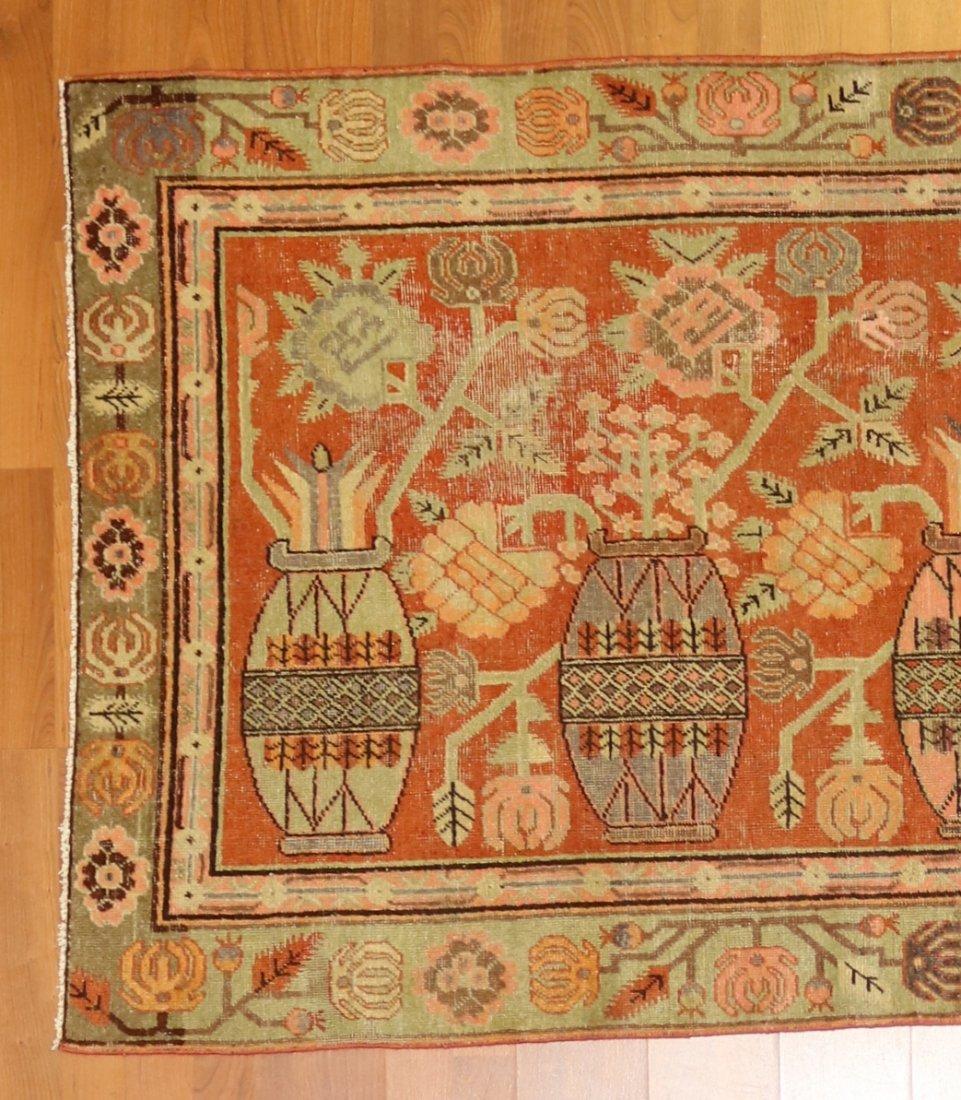Handmade Antique Khotan 4.9x7.8 - 7