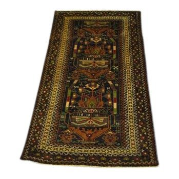 Handmade Semi-Antique Persian Balouch 3.9x6.7