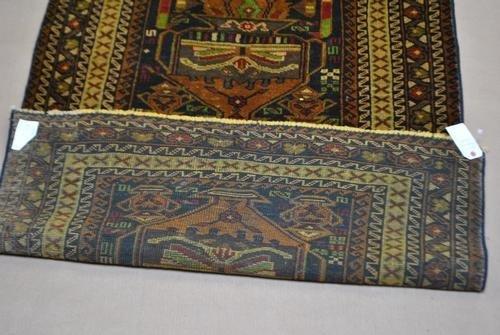 Handmade Semi-Antique Persian Balouch 3.9x6.7 - 2