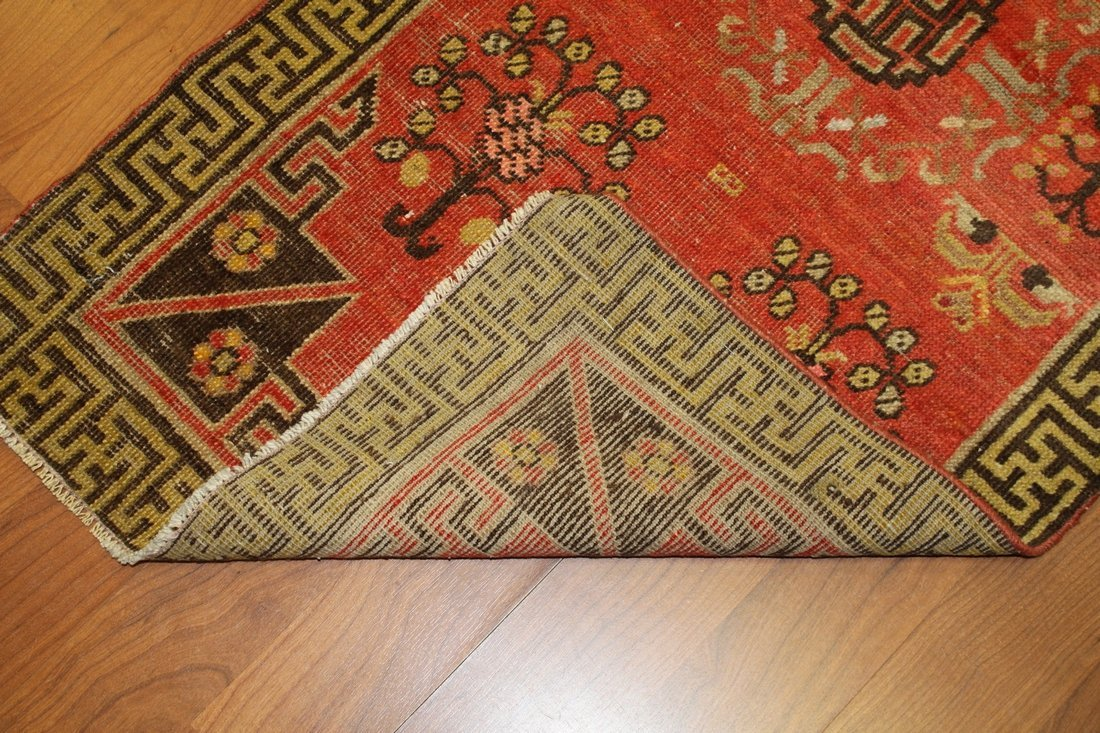 Handmade Antique Khotan 2.2x4.4 - 3