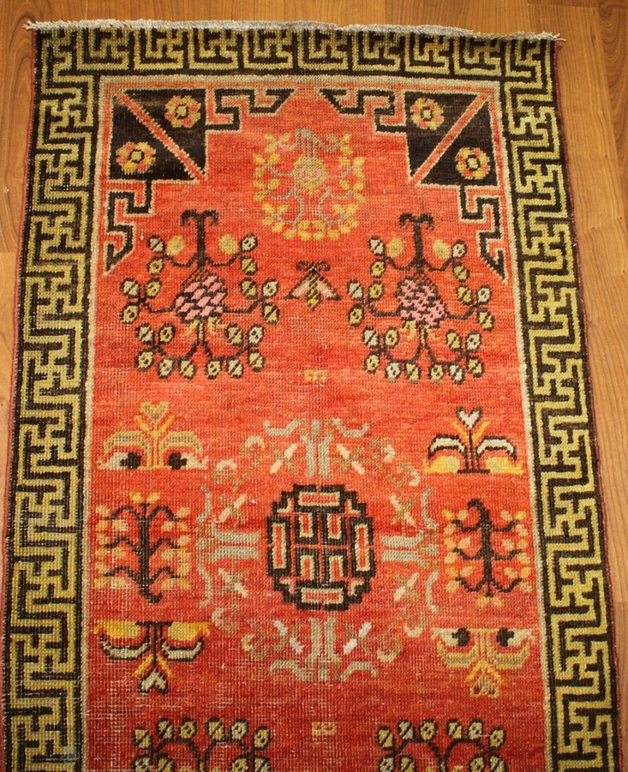 Handmade Antique Khotan 2.2x4.4 - 6