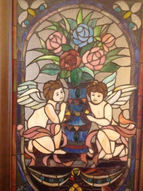 Stained Glass Window Panel - 2