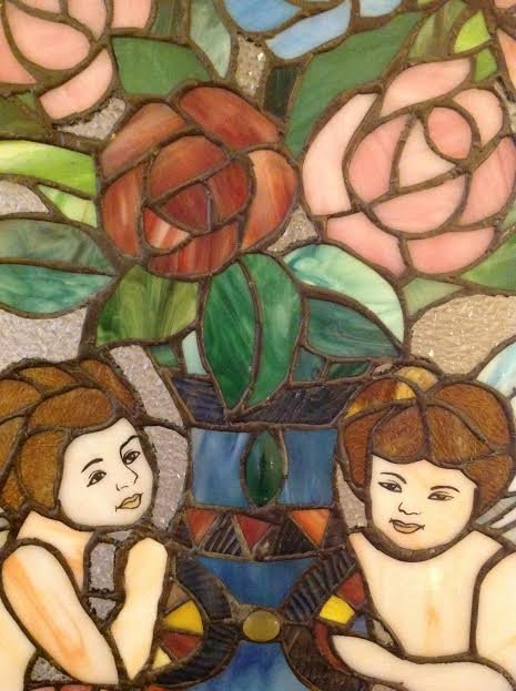 Stained Glass Window Panel - 3