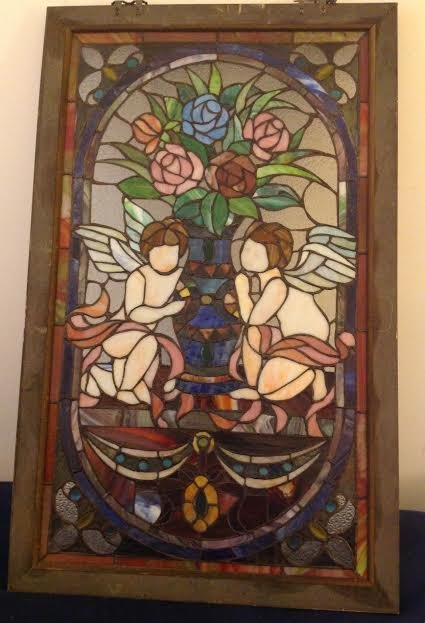 Stained Glass Window Panel - 4