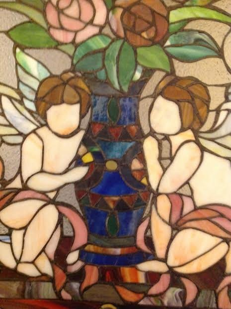 Stained Glass Window Panel - 5