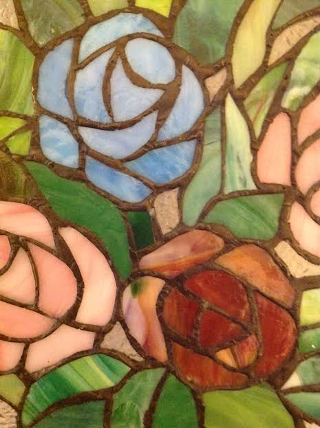 Stained Glass Window Panel - 6