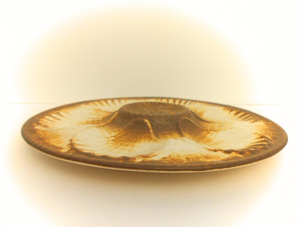 Longchamp Chantilly French Ceramic Oyster Plate - 3