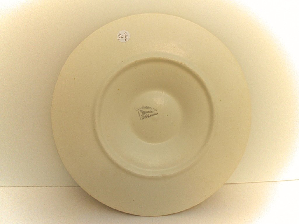 Longchamp Chantilly French Ceramic Oyster Plate - 4