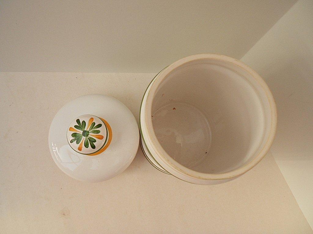Clamecy Cera Alba Faience Apothecary Jar - 5