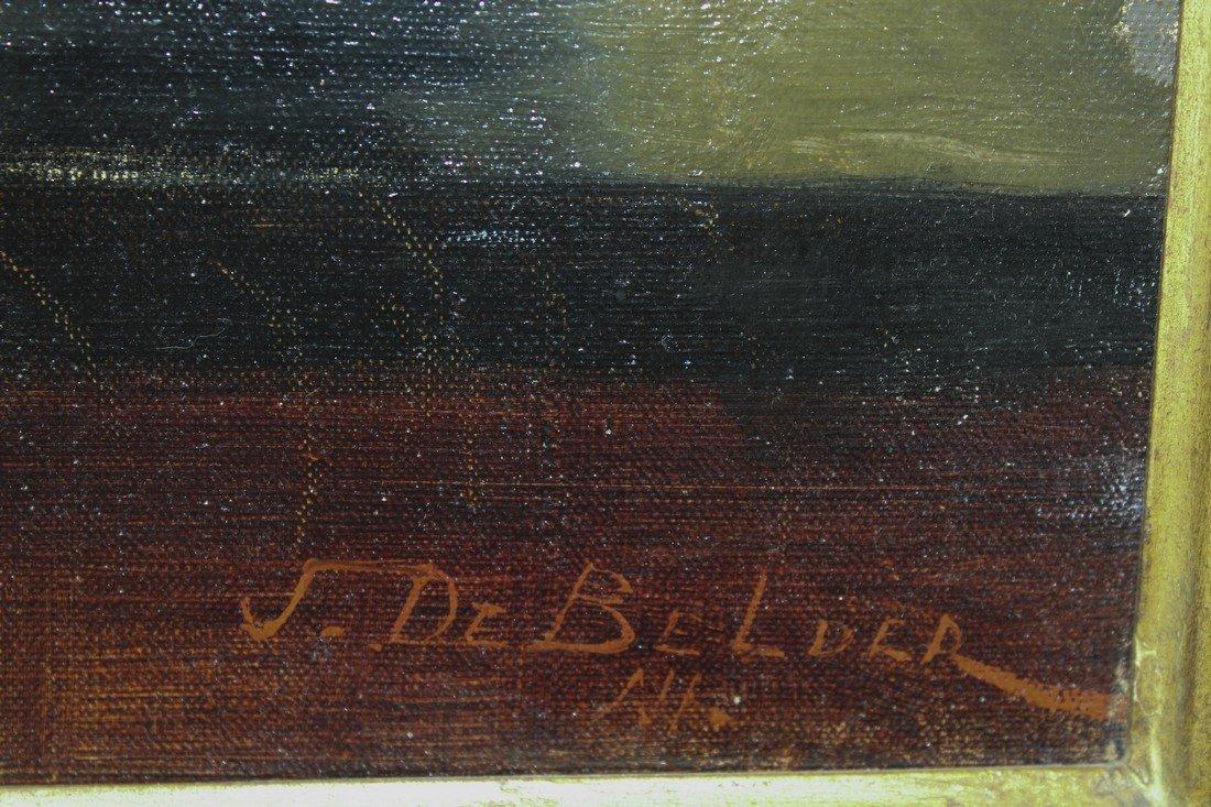 Joseph De Belder: Still Life Painting 19th C - 2