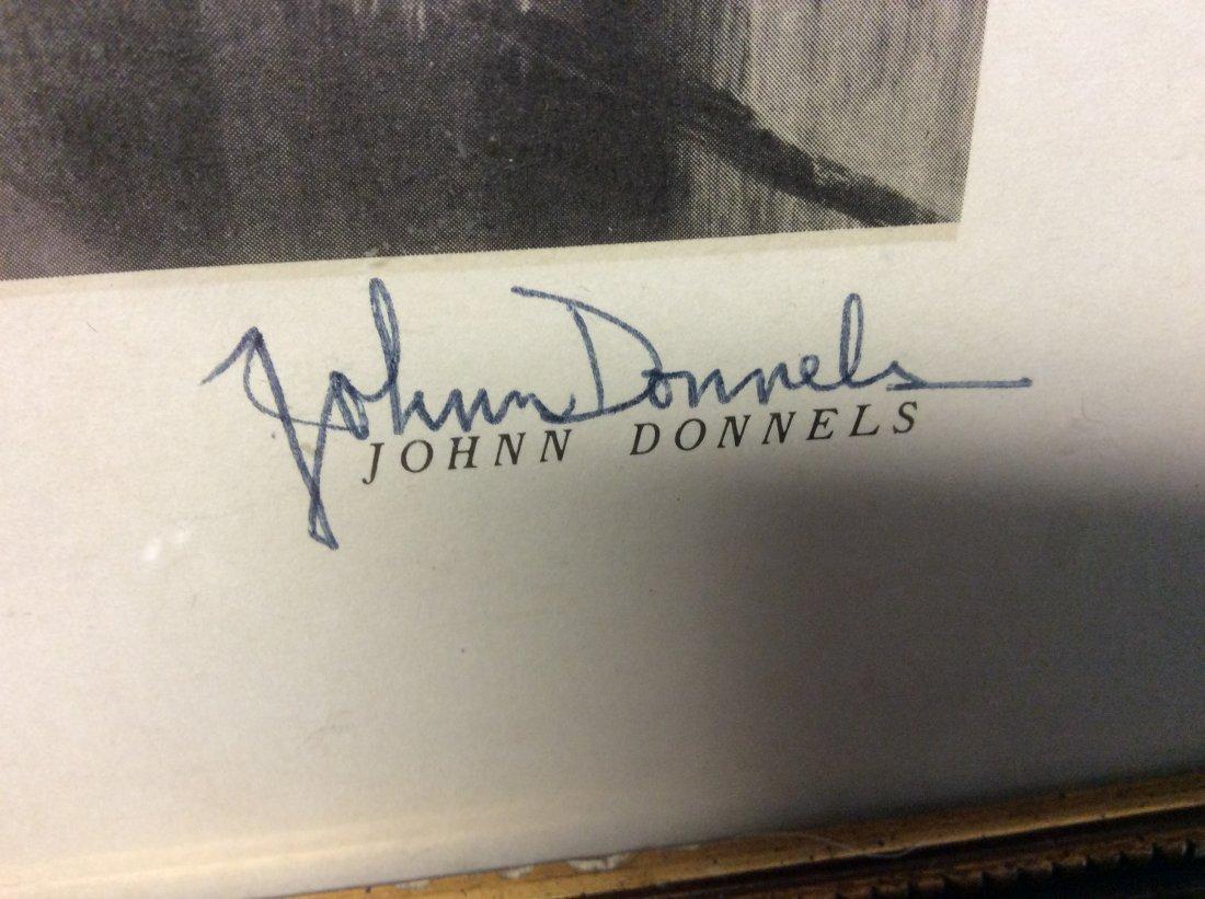 John Donnels: Print of St. Louis Basilica, 1960's - 2