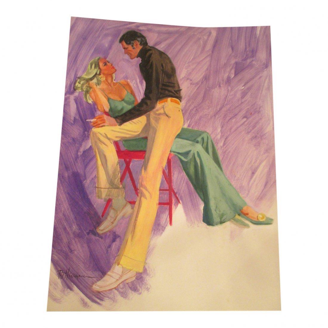 R & B Herrmaun: Red Chair