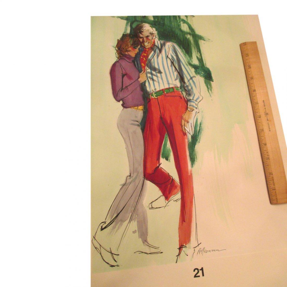 R & B Herrmaun: Red Slacks